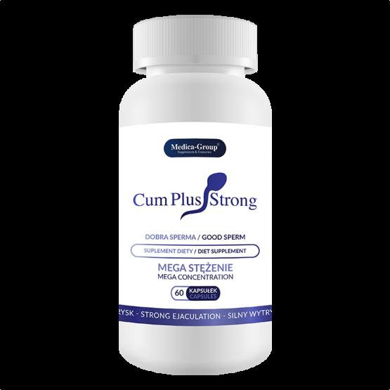 Cum Plus Strong 60 kapsułek na poprawę smaku nasienia oraz silny wytrysk