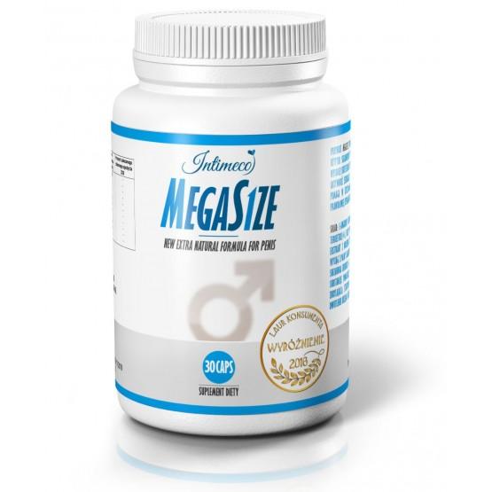 MEGASIZE 30 caps - wzmacniający erekcję oraz powiększający