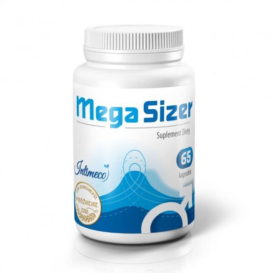 MegaSizer 65caps - Preparat powiększający penisa