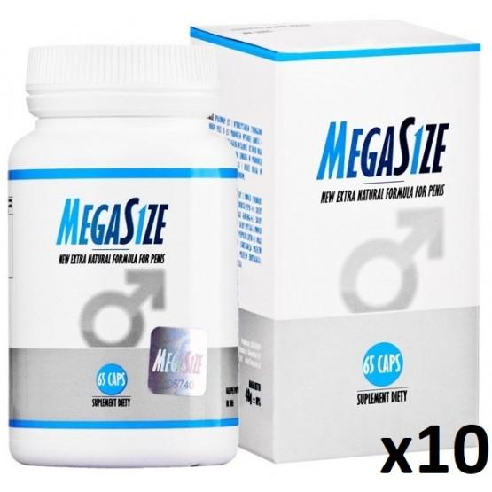 MegaSize 65kaps - 10 opakowań