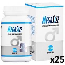 MegaSize 65kaps - 25 opakowań