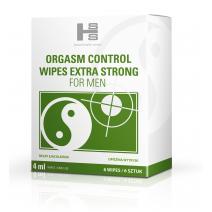 SHS Orgasm Control Wipes - chusteczki opóźniające wytrysk