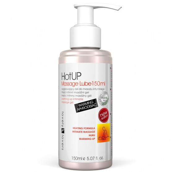 LOVELY LOVERS HotUP Massage Lube 150ml