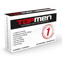 SHS Top Men Plus - 10 kapsułek suplement diety