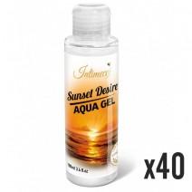 INTIMECO Sunset Aqua Gel 100ml - pakiet 40 sztuk