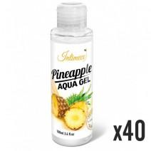 INTIMECO Pineapple Aqua Gel 100ml - pakiet 40 sztuk