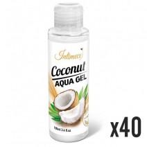 INTIMECO Coconut Aqua Gel 100ml - pakiet 40 sztuk