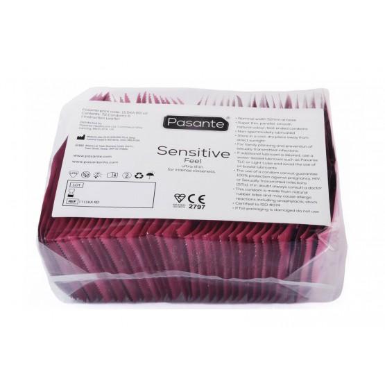 Prezerwatywy Pasante Sensitive Bulk Pack 72szt