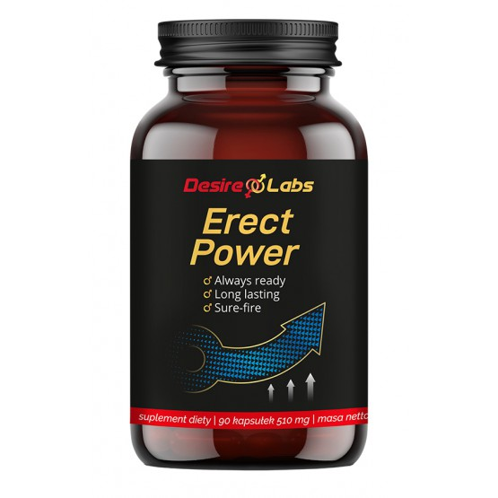 Desire Labs Erect Power™ - 90 kaps. suplement diety