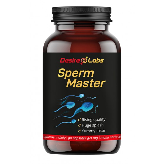 Desire Labs Sperm Master™ - 90 kaps. suplement diety