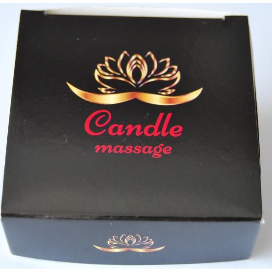 Świeca do masażu erotycznego Candle massage 70 ml - zapachowa