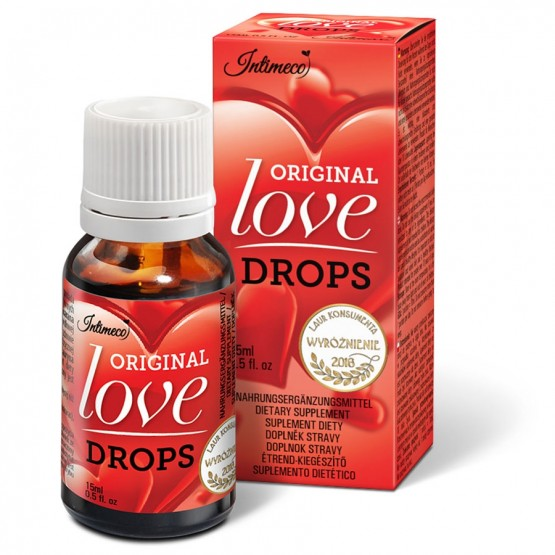 INTIMECO ORIGINAL LOVE DROPS 15 ML