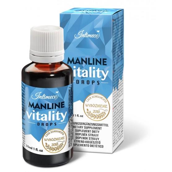 INTIMECO MANLINE VITALITY DROPS 30 ML