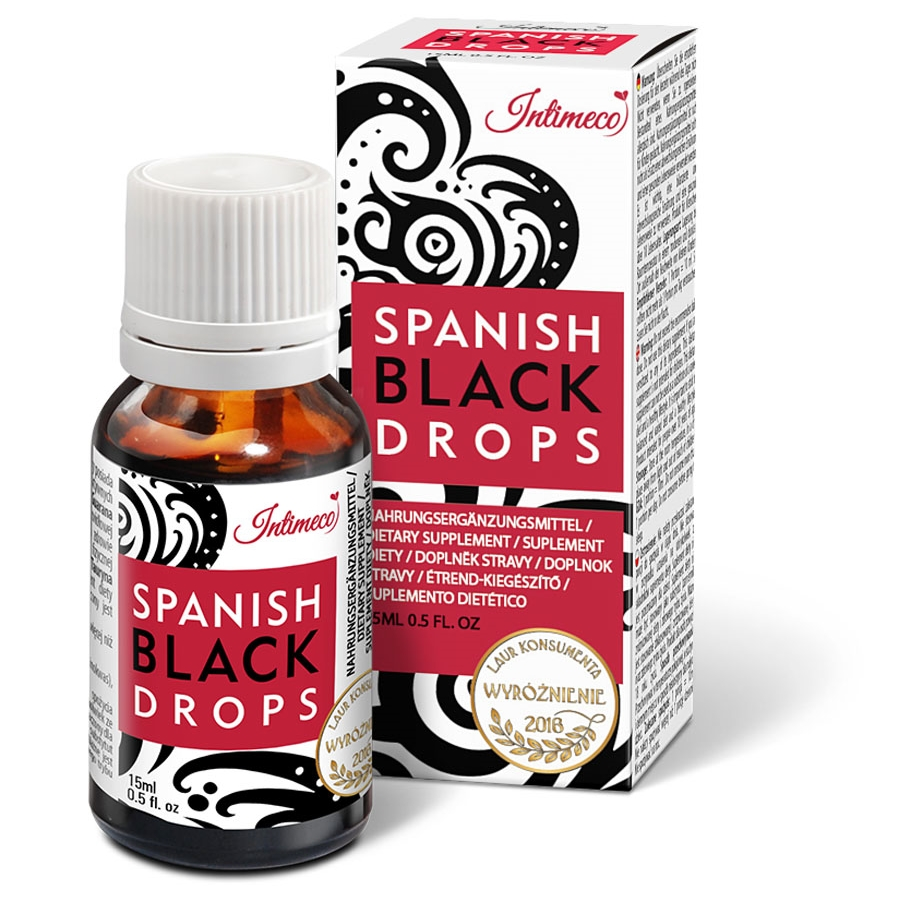 Intimeco spanisg black drops
