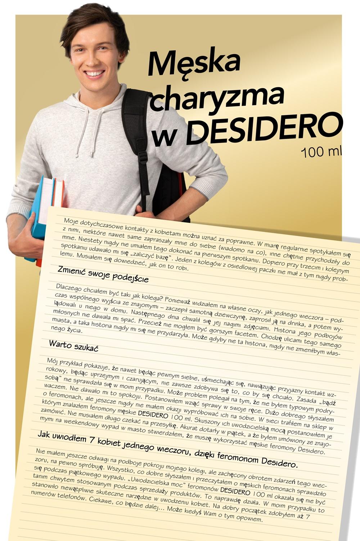 Plakat opowiadanie DESIDERO 100ml