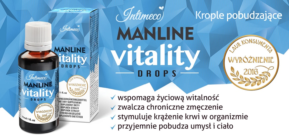 Intimeco Manline Vitality Drops 30ml