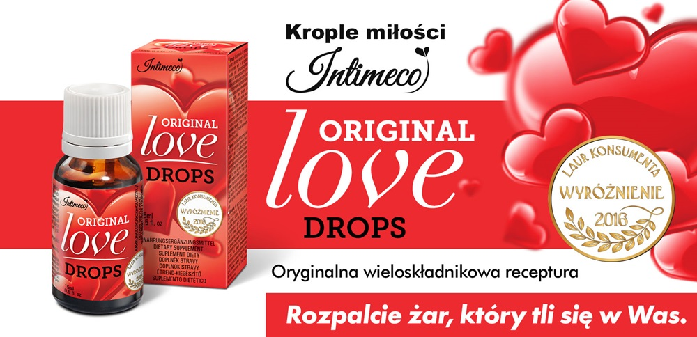 Intimeco Original Love Drops 15ml