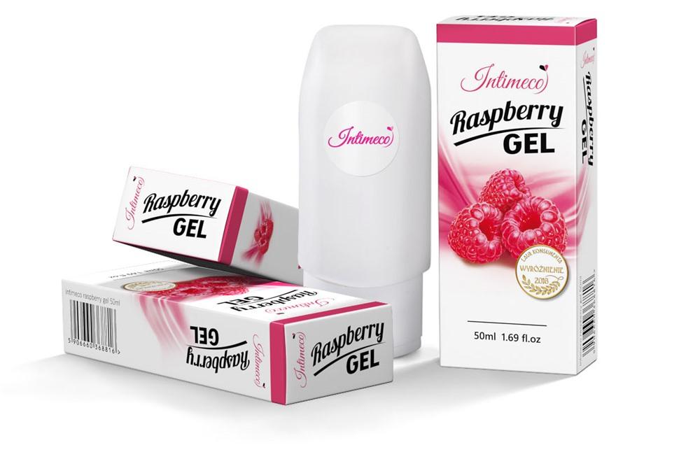 Intimeco Raspberry Gel 50ml