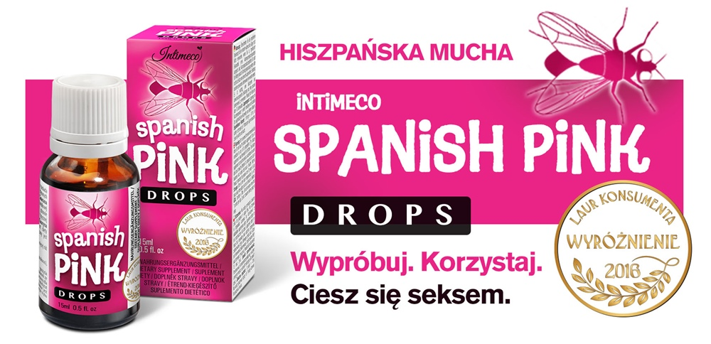 Baner Intimeco Spanish pink drops 15ml