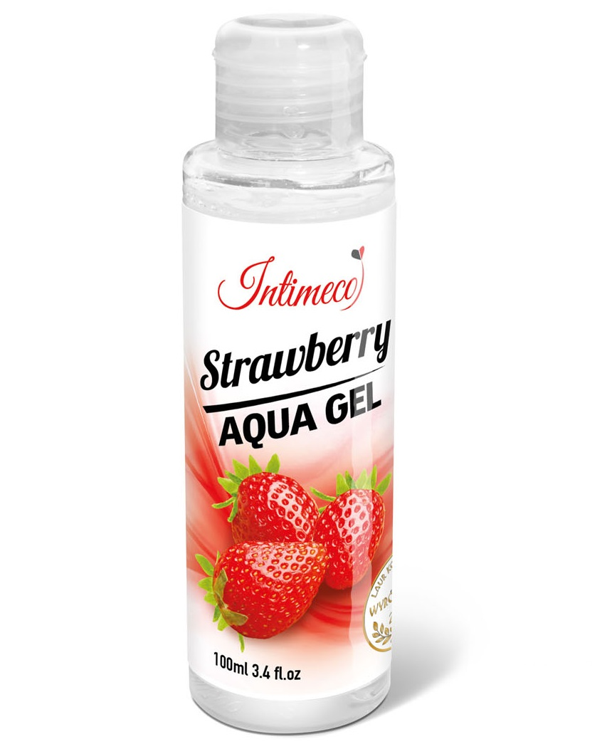 Wizualizacja Intimeco Strawberry Aqua 100ml