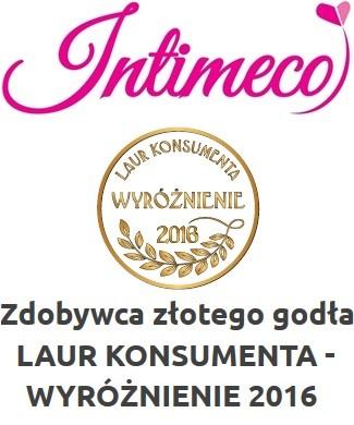 INTIMECO LAUR KONSUMENTA - WYRÓŻNIENIE 2016