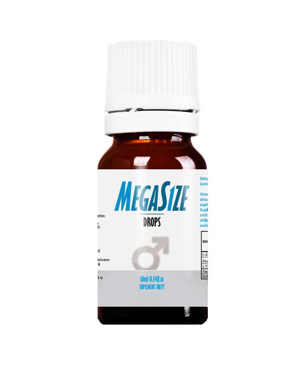 Megasize drops - kropcje pobudzające